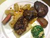 Tournedos With Spinach