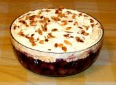 Raspberry Custard Trifle