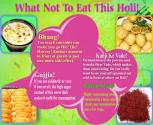 Holi Foods - What To Eat, What Not To Eat