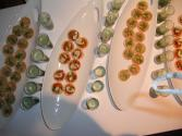 Cucumber Shrimp Canapes