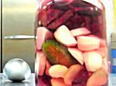 Vegan Thanksgiving: Pickled Beets And Radishes 