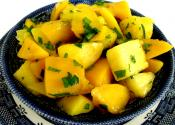 Cantaloupe, Pineapple And Mango Salad