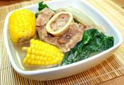 Pinoy Boiled Veal Shanks In Beef Broth