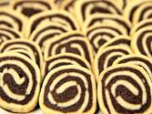 Pinwheel Cookies - Vanilla And Chocolate