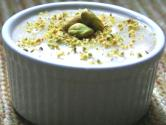 Pistachio Phirni - Pistachio Rice Pudding 