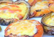 Plank Grilled Bell Pepper Shell Omelet