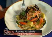 The Chef's Kitchen-poached Artichoke With Grilled Zucchini