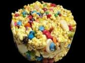 Popcorn Candy Cake - Halloween Special