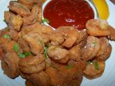 Healthy Oven Fried Popcorn Shrimp