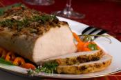 Roast Loin Of Pork With Red Wine