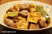 Pork Adobo With Tofu