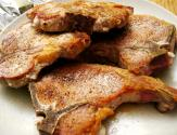 Pork Chops Flambe