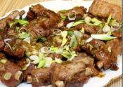 Pork Spare Ribs With Oyster Sauce