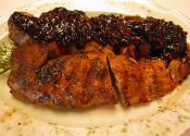 Pork Tenderloin With Kentucky Sweet-savory Bourbon Barbecue Sauce