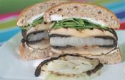 Super Snacky Portabella Mushroom Burger
