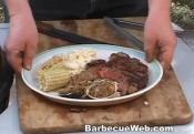 Barbecued Porterhouse Steak