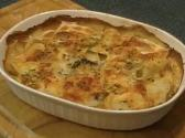 Potato And Carrot Puree Au Gratin
