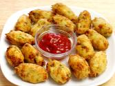 Potato Paneer Tots