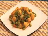 Potatoes And Peas Vegetable!