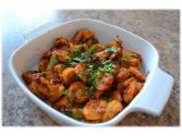 Stir Fried Prawn Masala