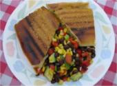 Pressed Cuban Sandwiches With Paulette&#039;s Cuban Cowboy Caviar Salad
