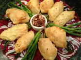 Asparagus And Prosciutto Wrapped In Puffed Pastry