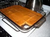 Pumpkin Brownie Bars