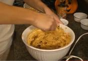 Pumpkin Cake With Cream Cheese Icing Part 1 - Making The Batter