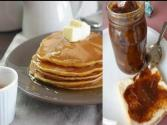 Pumpkin Jam And Pumpkin Pancakes