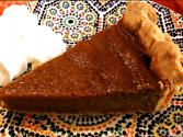 Pumpkin Pie With A Moroccan Twist