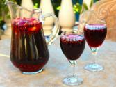 Purple Pomegranate Sangria