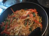 Quick Asian Noodle Salad