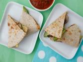 Mushroom Quesadillas - Easy Lunch - Weelicious Featuring Simply