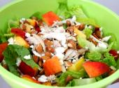 Quick Chicken And Peach Salad