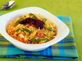 Quick Tava Rice By Tarla Dalal