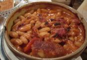 Quick Veal Cassoulet