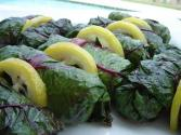 Quinoa Stuffed Swiss Chard Rolls - Part 2 - Rolling And Steaming