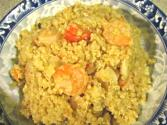Quinoa With Shrimp