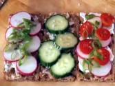 Radish Swedish Flatbreads