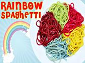 How To Make Rainbow Spaghetti