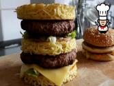 How To Make A Ramen Burger Big Mac
