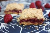 Raspberry Squares