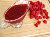 Easy Raspberry Dessert Sauce