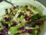 Raw Cabbage Greens Oriental Style