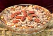 Raw Pecan Pie