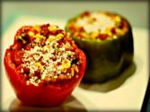 Raw Vegan Stuffed Pepper