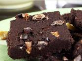 Raw Walnut And Fig Brownie