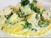 How To Make Creamy Chicken Alfredo Sauce Over Pasta