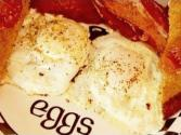 Perfect Over Easy Eggs Breakfast With Bacon