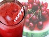 Watermelon Cherry Spritzer